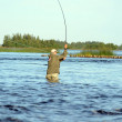 Fly Fishing — Stock Photo #17430249