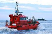 Barca pilota — Foto Stock
