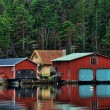 Stock Photo: Boathouse