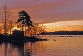 Küçük bir ada — Stok fotoğraf