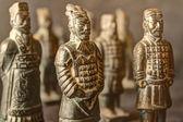 Qin shi huang soldirers — Stockfoto