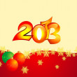 2013 backround — Stock Vector