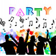 Party backround — Stock Vector #15890981