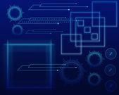 New technology backround — Stock Vector