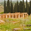 Hierapolis Ancient City in Pamukkale — Foto Stock