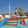 Fun Time Aqua Park in Izmir,Turkey — Stock Photo