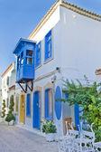 Beautiful Stone Street in Alaçati İzmir,Turkey — Stock Photo