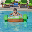 Fun Time in Aqua Toys City,Turkey — Stock Photo