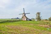 Beautiful Windmill in Holland — 图库照片