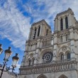 Notre Dame Cathedral in Paris,France — Stock Photo
