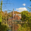 Beautiful Nature Scene in Brugge,Belgium — Stock Photo