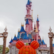 Fun Tİme in Disneyland,Paris France — Stock Photo