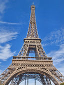 Scene in Eiffel Tower Paris ,France — Stock Photo