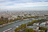 Scene in Seine River,Paris France — ストック写真
