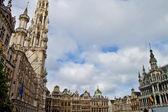 Scena w brukseli, belgia europy — Zdjęcie stockowe