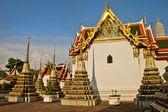 Temple interior Wat Pho bangkok thailand — Stock Photo