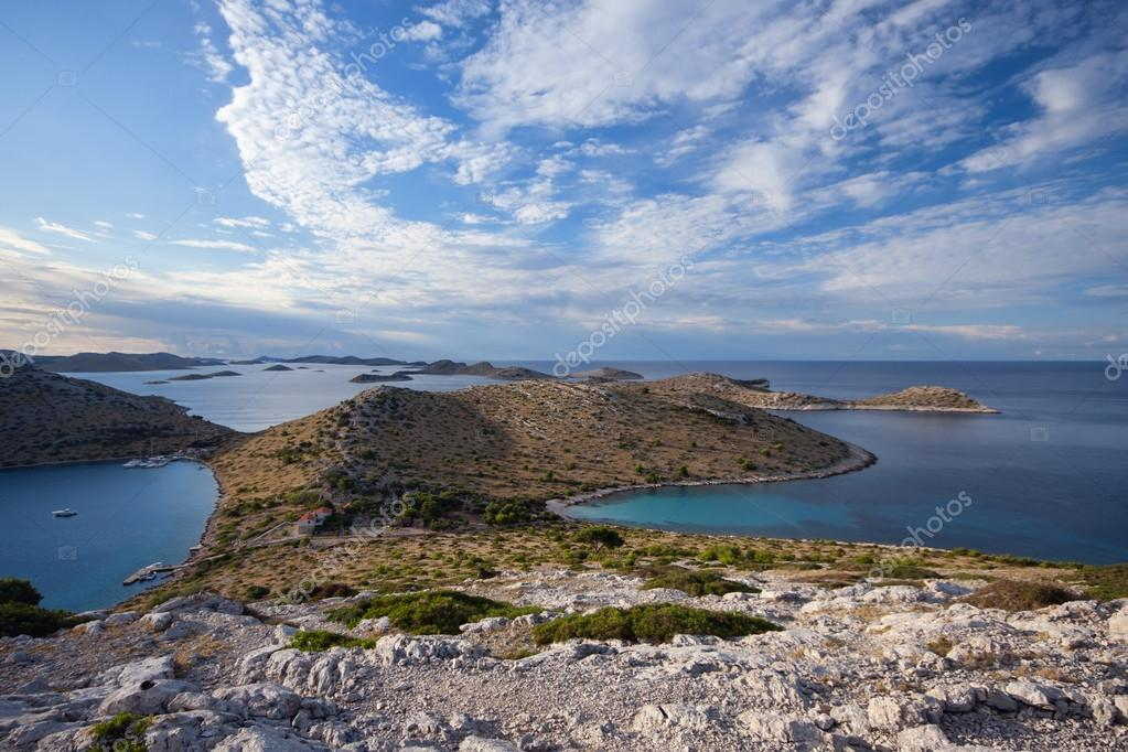 Kornati islands in Croatia, Adriatic sea — Stock Photo #14869905