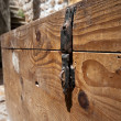 Old wooden chest — Stock Photo #14870645