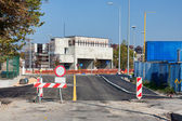 Roadworks — Stockfoto