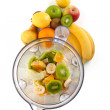 Electrical blender whit fruits — Stock Photo #16794057