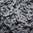 Stock Photo: Galvanized chains