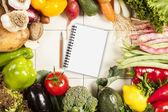Colorful healthy fresh vegetables — Stock Photo