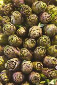 Artichoke market — Stock Photo