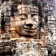 Angkor wat face - Stock Photo