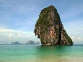 Plaża tajlandia z wapiennej — Zdjęcie stockowe