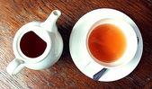 Tea serving — Stock Photo