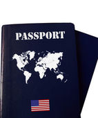 World passport — Stock Photo