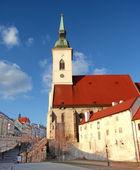 Katedrála svatého martina v bratislavě slovensko — Stock fotografie