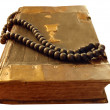Ancient religious book — Stock Photo