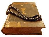 Ancient religious book — Stock Photo