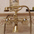 Stock Photo: Luxurious bath tap