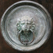 Stock Photo: Gate knocker
