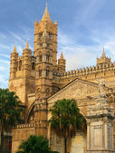 Cathedral in palermo sicily — Stock Photo