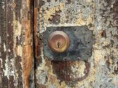 Old door lock — Stock Photo