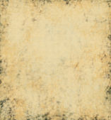 Grunge yellow paper texture background — Stock Photo