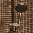 Stock Photo: Contemporary shower head