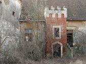 Abandoned haunted house — Stock Photo