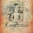 Royalty-Free Stock Photo: Buddha with grunge background