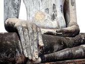 Buddha hand closeup isolated — Stock Photo