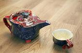 Tea set vintage — Stock Photo