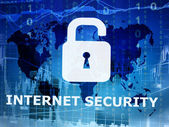 Internet security conceptual image — Stock Photo