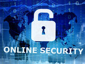Online security conceptual image — Stock Photo