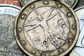 Italy euro coin — Stock Photo