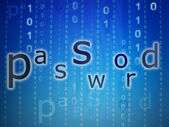 Password concept — Stock Photo