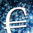 Euro sign illustration — Stock Photo