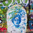 John lennon graffiti — Stock Photo